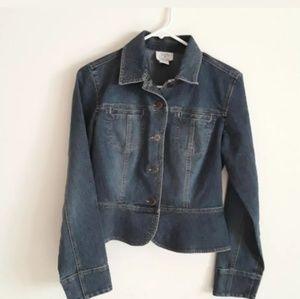 Ann Taylor denim jacket size 4